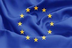 Markierungsfahne EU-Europa lizenzfreie abbildung