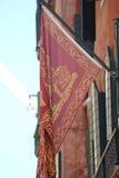 Markierungsfahne und Emblem des Venedigs Stockbilder