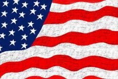 Markierungsfahne USA Lizenzfreies Stockfoto