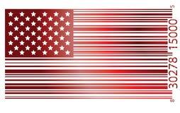 Markierungsfahne USA Stockfoto