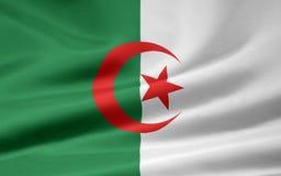 Markierungsfahne von Algerien Stockfotos