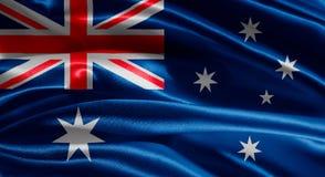 Markierungsfahne von Australien Stockfotos