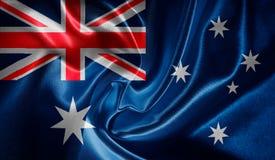 Markierungsfahne von Australien Stockfotografie