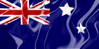 Markierungsfahne von Australien vektor abbildung