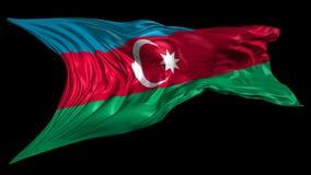 Markierungsfahne von Azerbaijan vektor abbildung