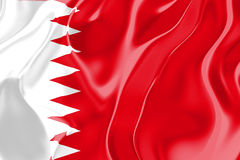 Markierungsfahne von Bahrain Lizenzfreies Stockbild