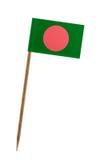 Markierungsfahne von Bangladesh stockbild