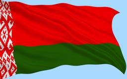 Markierungsfahne von Belarus stockbilder