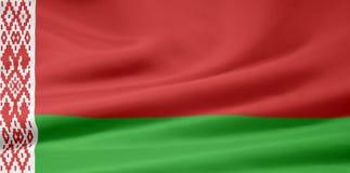 Markierungsfahne von Belarus stock abbildung