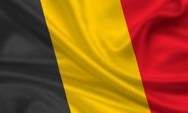 Markierungsfahne von Belgien Lizenzfreies Stockbild