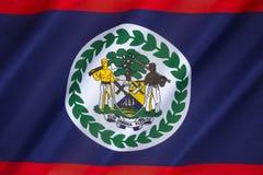 Markierungsfahne von Belize Stockfoto