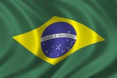 Markierungsfahne von Brasilien