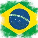 Markierungsfahne von Brasilien lizenzfreie abbildung