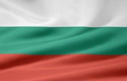 Markierungsfahne von Bulgarien Lizenzfreies Stockfoto