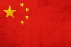 Markierungsfahne von China stock abbildung