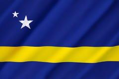 Markierungsfahne von Curaçao Lizenzfreies Stockbild