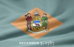 Markierungsfahne von Delaware Stockbild