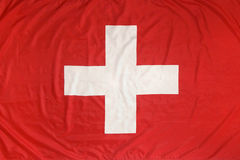 Markierungsfahne von der Schweiz Stockbilder