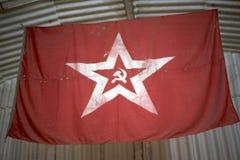 Markierungsfahne von der Sowjetunion stockfotos