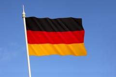 Markierungsfahne von Deutschland Stockbild