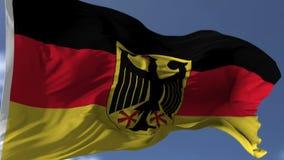 Markierungsfahne von Deutschland stock abbildung