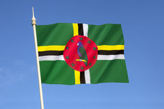Markierungsfahne von Dominica Stockbild