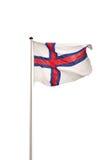 Markierungsfahne von Färöern Lizenzfreie Stockfotos