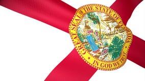 Markierungsfahne von Florida lizenzfreie abbildung