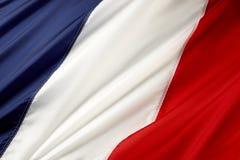 Markierungsfahne von Frankreich Lizenzfreies Stockfoto