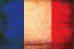 Markierungsfahne von Frankreich Stockfotografie