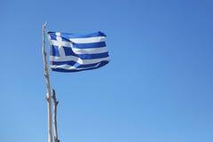 Markierungsfahne von Griechenland Stockbilder