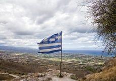Markierungsfahne von Griechenland Stockfotos