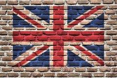 Markierungsfahne von Großbritannien Lizenzfreies Stockbild