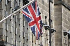 Markierungsfahne von Großbritannien Stockfoto