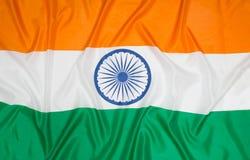 Markierungsfahne von Indien Stockbild