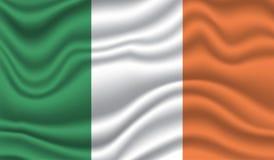 Markierungsfahne von Irland Stockfotos