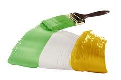 Markierungsfahne von Irland Lizenzfreie Stockbilder