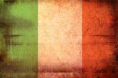 Markierungsfahne von Irland Lizenzfreie Stockfotos