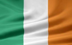 Markierungsfahne von Irland Stockfoto