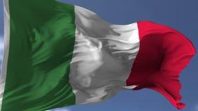 Markierungsfahne von Italien vektor abbildung