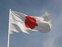 Markierungsfahne von Japan Stockbild