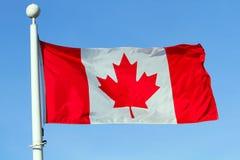 Markierungsfahne von Kanada Lizenzfreie Stockbilder