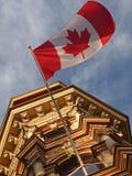 Markierungsfahne von Kanada Stockfotos