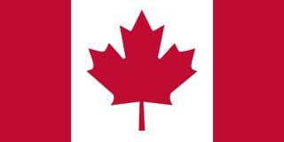 Markierungsfahne von Kanada Lizenzfreie Stockfotos