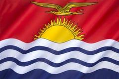 Markierungsfahne von Kiribati Stockfotos