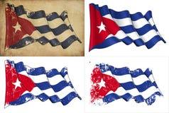 Markierungsfahne von Kuba Lizenzfreies Stockbild
