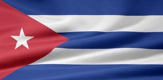 Markierungsfahne von Kuba lizenzfreie abbildung