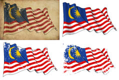 Markierungsfahne von Malaysia Stockbilder