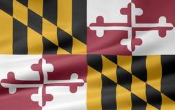 Markierungsfahne von Maryland Lizenzfreie Stockfotografie