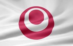 Markierungsfahne von Okinawa - Japan Lizenzfreie Stockbilder